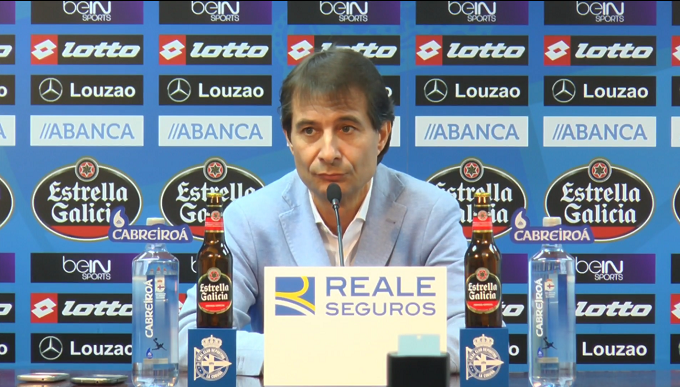 Richard Barral, director deportivo del Dépor.