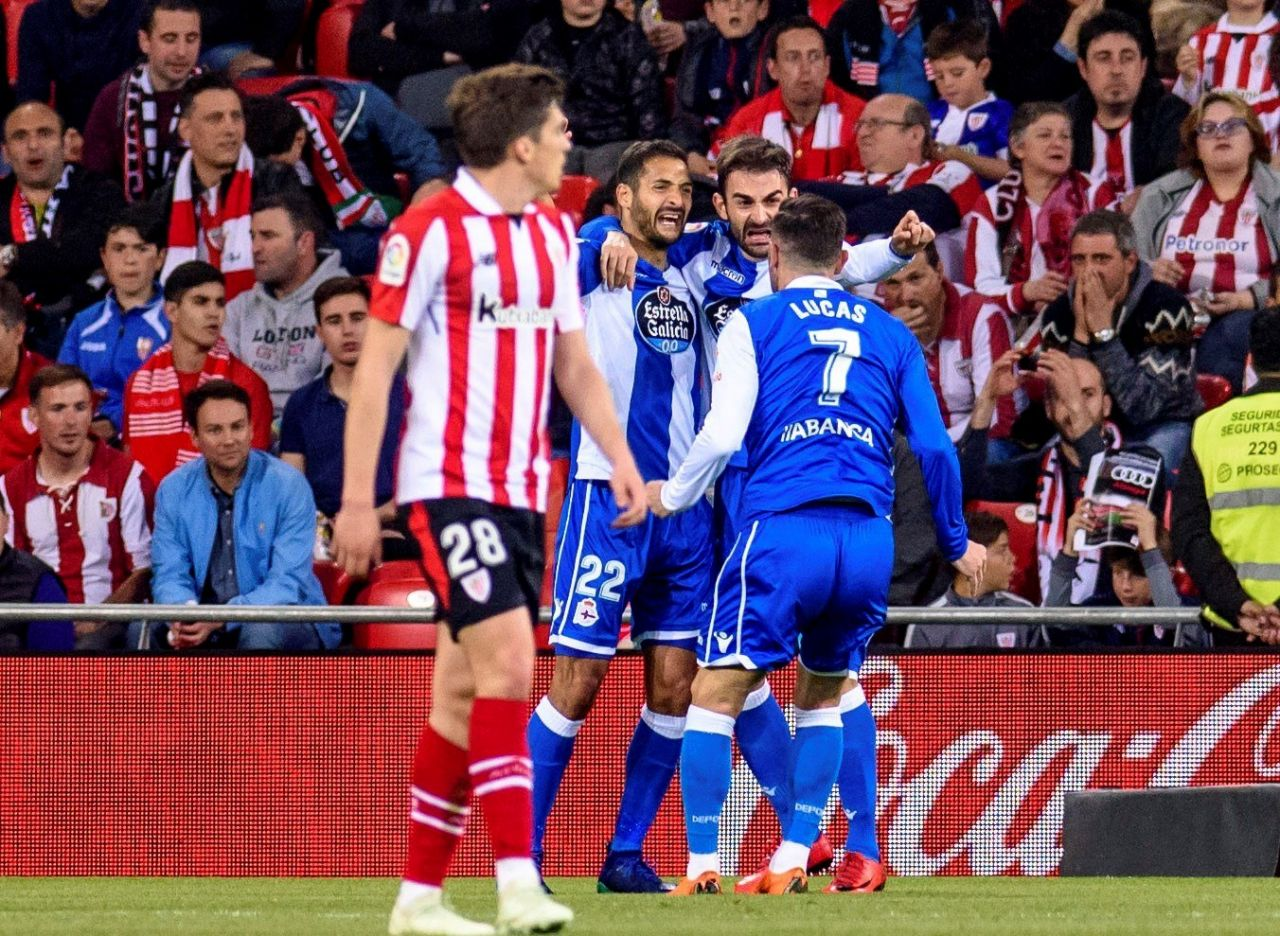 Athletic Club-Deportivo en San Mamés (Foto: EFE).