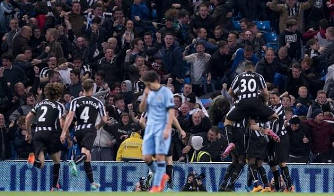 El Newcastle eliminó al Manchester City.