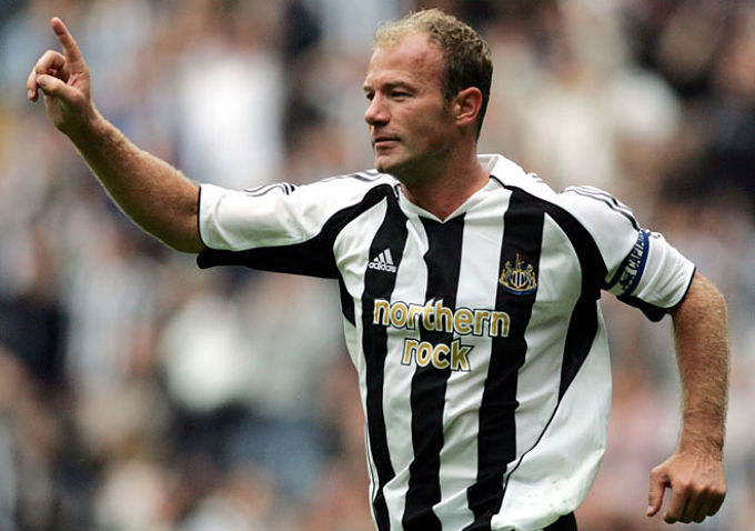 Alan Shearer, exjugador del Newcastle.