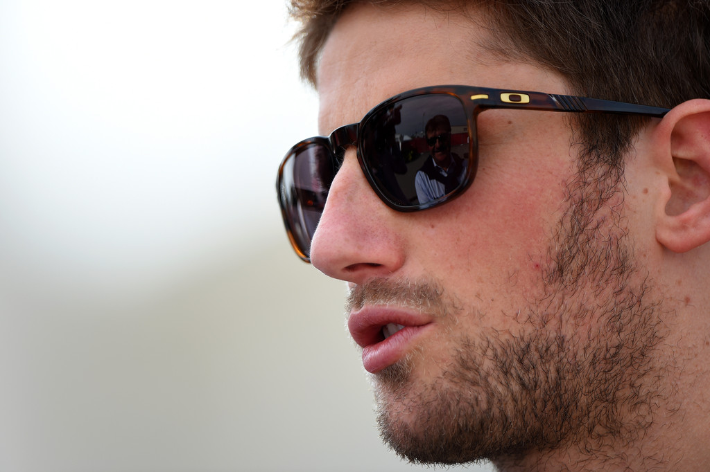Romain Grosjean, piloto de Lotus