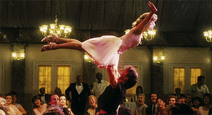Frame de la película 'Dirty Dancing'.