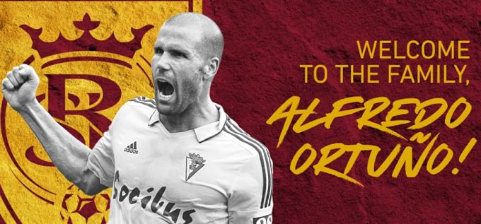 Ortuño firma por el Real Salt Lake.
