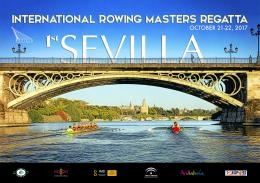 Cartel de la Sevilla International Rowing Masters Regatta.