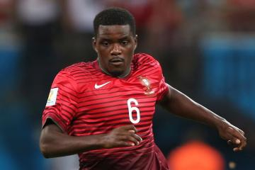 William Carvalho, en un partido de Portugal.