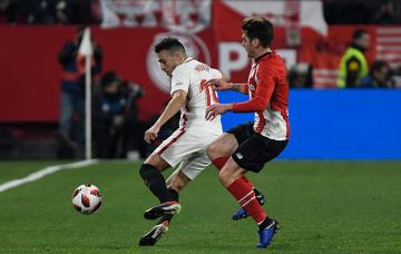 Munir, ante el Athletic (Foto: Kiko Hurtado).