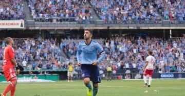 David Villa, con el New York City.