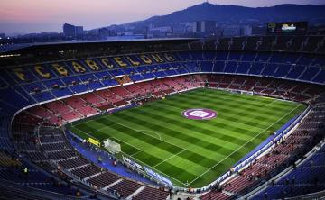 Actual aspecto del Camp Nou.
