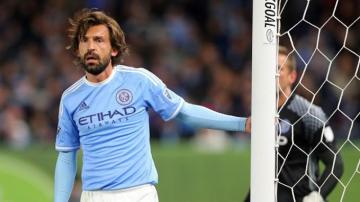 Andrea Pirlo en el New York City.