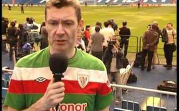 Paul Giblin, periodista y seguidor del Athletic.