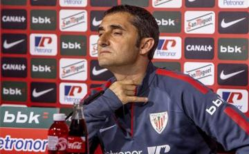 Ernesto Valverde aún dirige al Athletic Club.