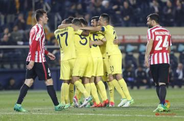 El Villarreal se ha impuesto al Athletic (Foto: LFP).