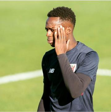 Iñaki Williams, vital para Ziganda.
