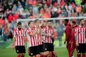 Villalibre jugó en el amistoso ante el Liverpool (Foto: Athletic Club).
