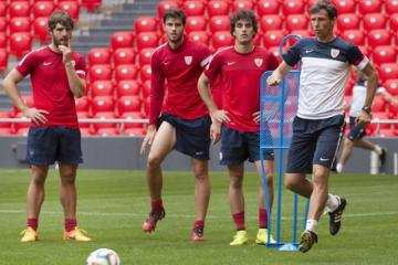 Ziganda ya ha moldeado a Yeray y Lekue. FOTO: athletic