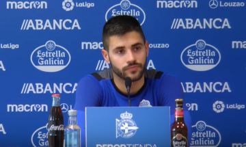 Carles Gil, extremo del Deportivo (Foto: RCD).