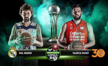 Final entre Real Madrid y Valencia (Foto: ACB).