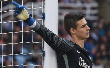 Kepa, defendiendo la portería del AThletic.