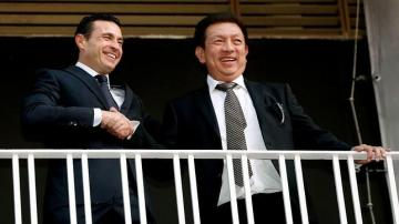 Amadeo Salvo y Peter Lim.