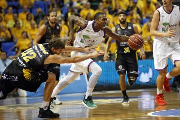 Smith, en el Tenerife-Unicaja.