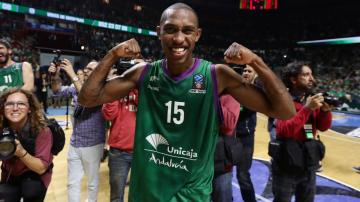 El escolta del Unicaja Jamar Smith.
