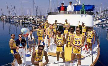 Los Angeles Lakers del 'showtime'.