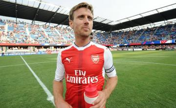 Nacho Monreal, lateral del Arsenal.