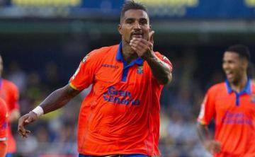 Boateng celebra su golazo ante el Villarreal.