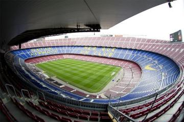 Interior del Camp Nou.