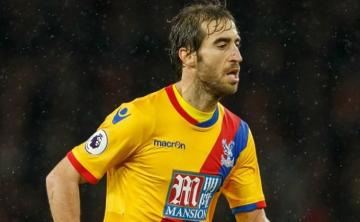 Mathieu Flamini, con el Crystal Palace.