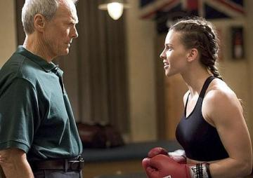 Una escena de la película Million Dollar Baby