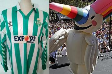 El Betis y la Expo, en el 1992.