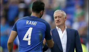 Rami y Didier Deschamps.