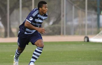 Erik Palmer-Brown, jugador del Sporting Kansas City.