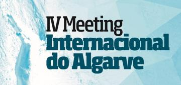Cartel del IV Meeting Internacional del Algarve.