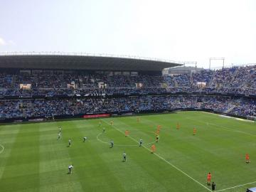 Estadio La Rosaleda.