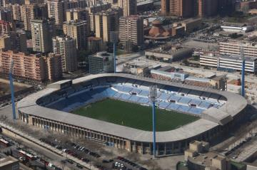 Estadio de La Romareda.