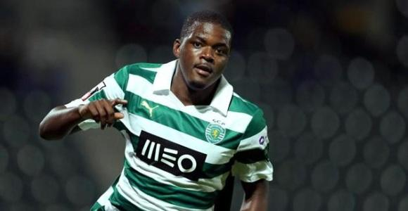 William Carvalho con el Sporting.