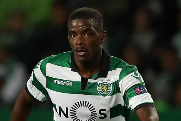 William Carvalho, en un partido con el Sporting.