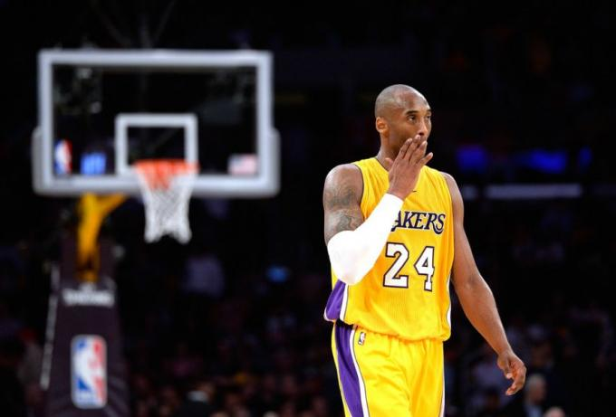 El escolta Kobe Bryant, en su última temporada con Los Angeles Lakers en la NBA.