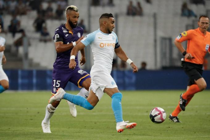 Payet, durante el Marsella-Toulouse.