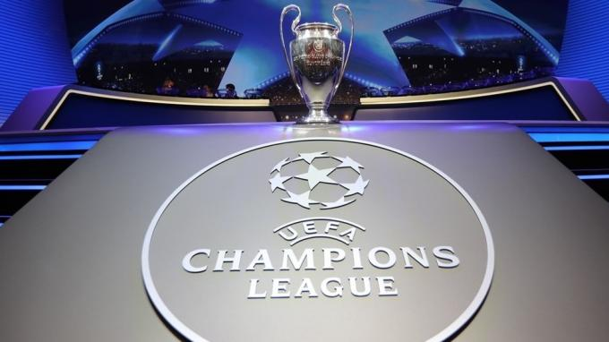 Trofeo de la Champions League.