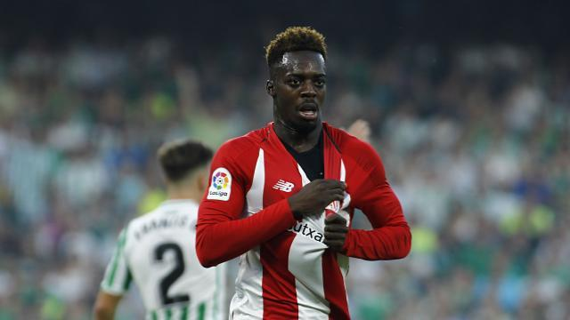 Williams marcó gol en el Betis - Athletic Club  de la primer vuelta (Foto: LaLiga).