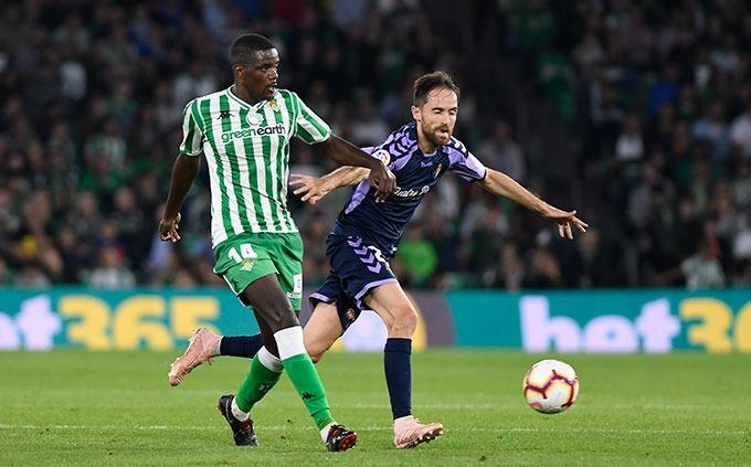William Carvalho, en el partido ante el Valladolid (Foto: Kiko Hurtado).