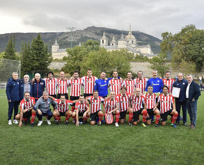 Los Veteranos del Athletic inician la Liga Solidaria (Foto: Athletic Club).