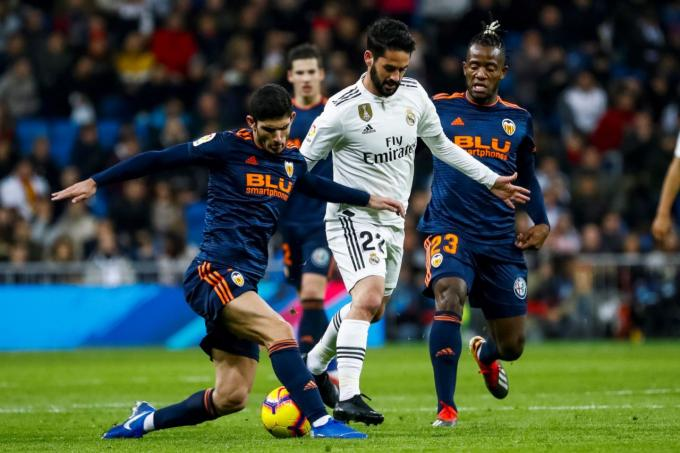 Guedes Real Madrid-Valencia. (Foto: EFE)