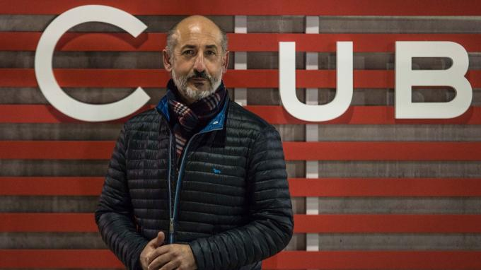Aitor Elizegi despide 2018 como presidente del Athletic Club.