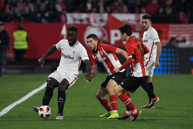 Gnagnon, ante el Athletic (Foto: Kiko Hurtado).