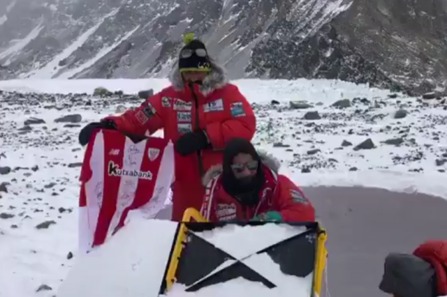 Alex Txikon iniciaba en enero un nuevo intento al Everest invernal.
