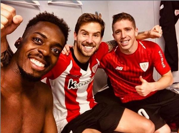 Williams, Iñigo Martínez y Muniain saboren una victoria del Athletic Club de Bilbao